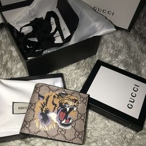 Other - Gucci king tiger wallet
